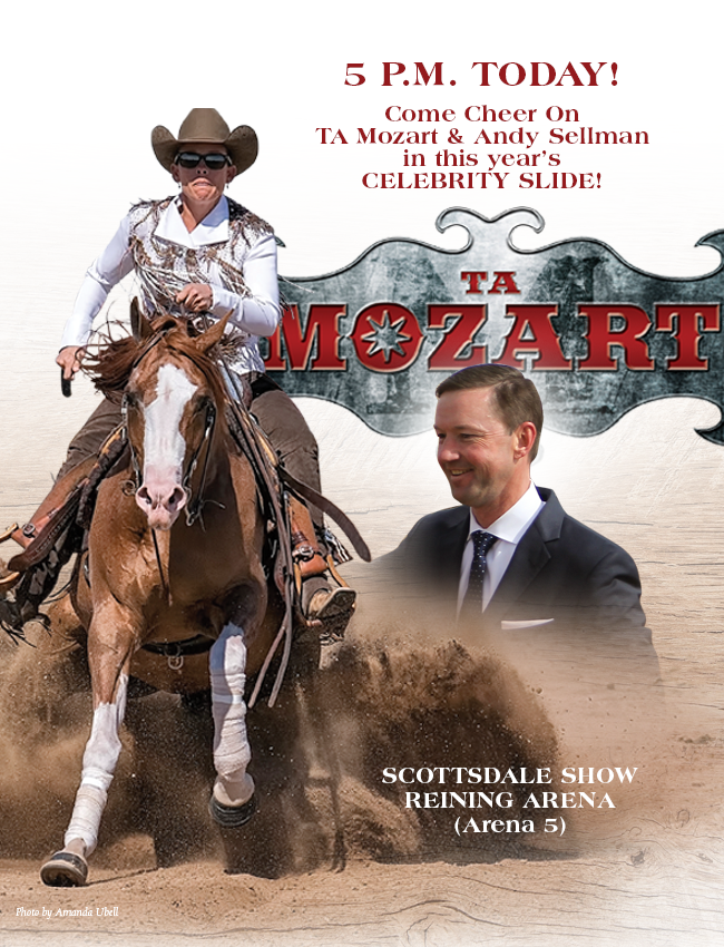 TA Mozart & Andy Sellman 5 p.m. Today in the Celebrity Slide!