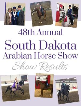 Sioux Falls Arabian Horse Show Results
