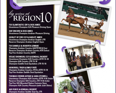 Big Wins At Region 10