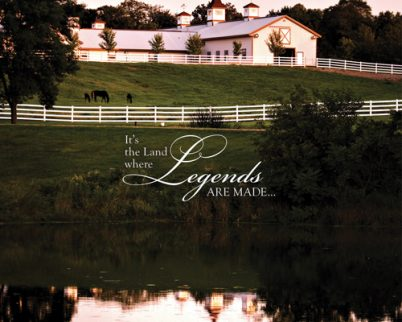 The land where legends are made …